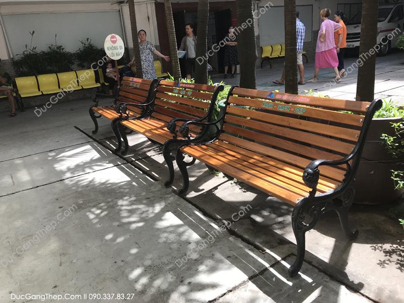 Ghế công viên bằng gang đúc giá rẻ bền đẹp