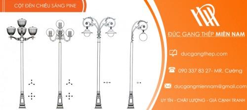 cột đèn sân vườn Pine
